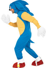 Mens Sonic the Hedgehog Costume Fancy Dress